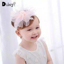 Chivry Toddler Infant <b>Baby</b> Kids Cotton Turban Knot Soft Nylon Dot ...