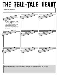 the tell tale heart by edgar allan poe reading activity packet the tell tale heart by edgar allan poe reading activity packet