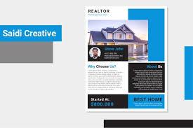 House For Rent Flyer Template Word Free Realtor Flyer Template Ms Word Document Fully Editable