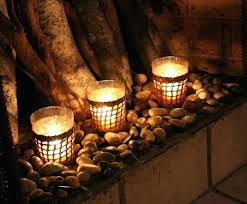 candles fireplace mantel candle displays for fireplaces lovely designs and ideas