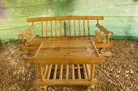 furniture made of bamboo. furniture made of bamboo stock photo 14568113