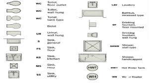 floor plan symbols bathroom. Sink Appliances, Toliet Bathroom Floor Plan Symbols C