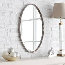 Oval Mirrors Bathroom Bathroom Wonderful Oval Bathroom Wall Mirror With Slimline