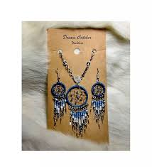 Buy A Dream Catcher Dreamcatcher Necklace Earrings Set The Choctaw Store 87