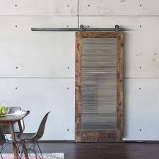 The Industrial Barn Door embodies a modern industrial look adding style and  substance to a barn
