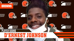 """D'Ernest Johnson: """"When your opportunity comes, you gotta make the best of  it."""" - YouTube"""