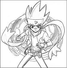 Beyblade Coloring Page For Kids Coloring Pages Pinterest
