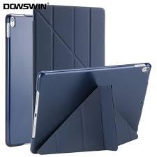 senarai harga dowswin case for ipad pro 10 5 inch pu leather transpa pc hard back cover fashion style flip stand for ipad pro 10 5 case terkini di