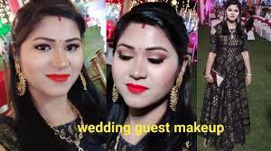 wedding guest makeup look hindi indian wedding guest makeup tutorial