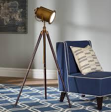 Beachcrest Home Saltz 635 Tripod Floor Lamp Reviews Wayfair