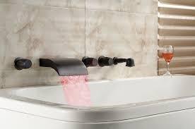roman tub faucets bronze. roman bathtub waterfall tub faucets bronze u