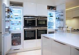 small white kitchens with white appliances. Siemens Fridges In White Gloss Kitchen Haywards Heath Small Kitchens With Appliances