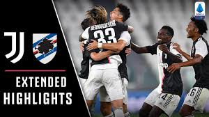 Juventus 2-0 Sampdoria | Juve Claim Ninth Straight Serie A Title! |  EXTENDED Highlights - YouTube