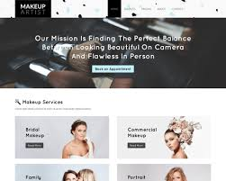 divi makeup artist theme