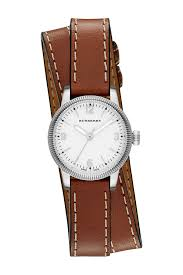 image of burberry women s double wrap band watch