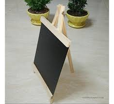chen0 super small chalkboard wooden miniature blackboard with stand message board for wedding table labels