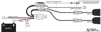 denali dm1 micro lights review webbikeworld denali dm1 light wiring diagram
