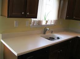 corian kitchen countertops. This Customer Picked Out The Corian Color Abalone With A #871 Bisque Sink. Edge Is An Ogee Edge. As You Can See When Replacing Countertop It Always Kitchen Countertops