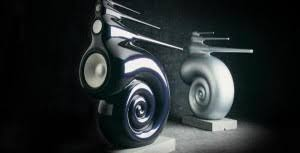 Bowers & Wilkins Nautilus speakers: These cool looking speakers looks like  a futuristic design and