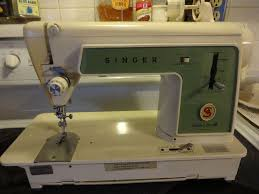 1960s Singer Sewing Machine