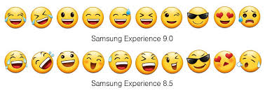 Samsung To Iphone Emoji Chart 2018 Samsung Is Finally Updating Its Terrible Emoji The Verge