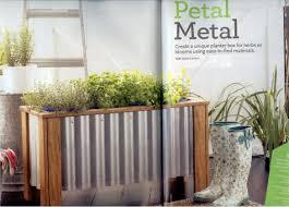 diy metal planter box | in the garden] diy Fresh Home planter box | Tracery
