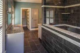 Bathroom remodel gray tile Cheap 50 Shades Of Gray Bathroom Remodel Hr Design Remodel Bathroom Remodeling And Bathroom Designs In York Pa Hr Design Remodel