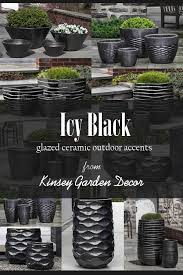 hyphen ice black ceramic pottery