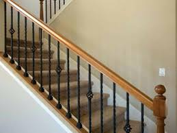 banister spindles replacement replacement railing for interior stairs photos of the stair railing kits interior home