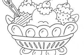 Small Picture dessert coloring pages Just Colorings