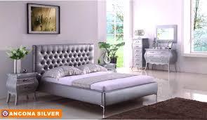 Silver Painted Bedroom Furniture Bedroom Pleasing Silver Piece Bedroom Suite Windsor Set Painted