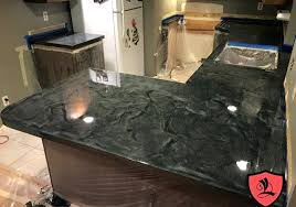 diy countertop resurface metallic resurfacing kits