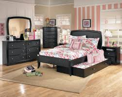 Shabby Chic Bedroom With Dark Furniture Bedroom Large Ashley Traditional Bedroom Furniture Concrete Wall