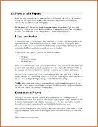Literature Review Outline Template Word Doc With Apa Literature