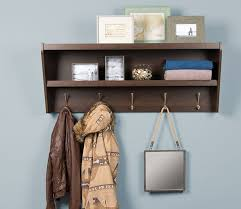 Entryway Shelf And Coat Rack Floating Coat Rack and Entryway Shelf 3