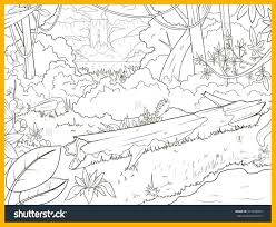 Coloring Pages Nature Scenes Nature Coloring Page Nature Scene