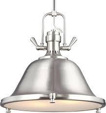 2 light pendant brushed nickel upc 785652257278