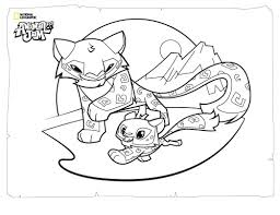 Small Picture Animal Jam Coloring Pages The Daily Explorer