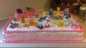 Cool Crazy Cats 1 2 Sheet Cake cake by Bronecia custom cakes