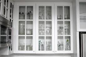 Glass Front Kitchen Cabinets Idea