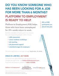 job seekers platform to employment program