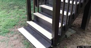 how to replace deck stair treads the
