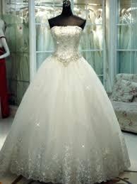 ball gown wedding dresses. luxurious strapless beaded sequined appliques ball gown wedding dress dresses