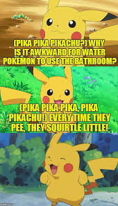 Bathroom Puns Stunning Bad Pun Pikachu The Rise Of The Puns Has Begun Pokémon Know