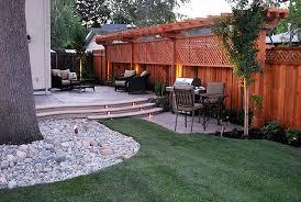 Backyard Privacy Ideas Garden Design Garden Design