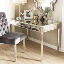 Clara Antique Gold 1-Drawer Mirrored Writing Desk by iNSPIRE Q Bold - Free  Shipping Today - Overstock.com - 24130966