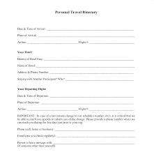 travel profile personal business profile template