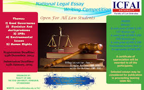 law essay writing essay business law essays legal essay writing  faculty of law the icfai university dehradun national legal nlewc 2015 poster