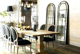 Rustic Chic Dining Room Furniture Tables