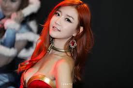 dota 2 lina korean cosplay gstar alienware arena